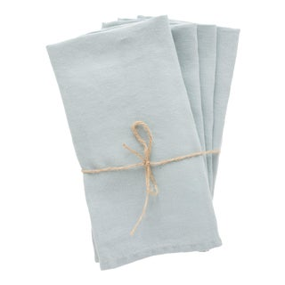 Thyme Linen Napkins - Set of 4 For Sale