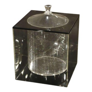 Vintage Lucite Ice Box