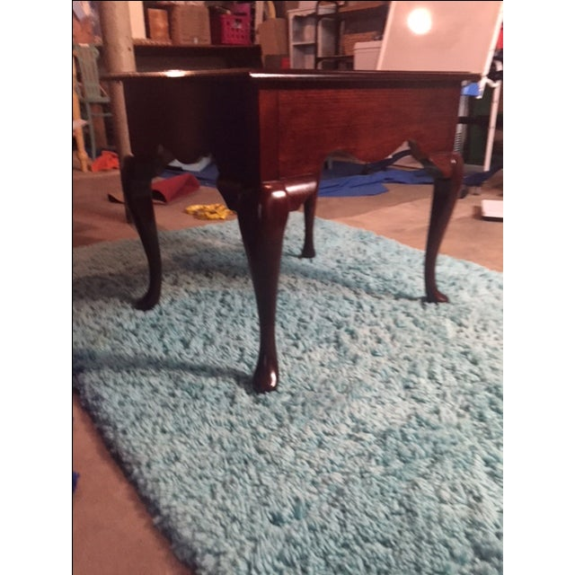 Queen Anne End Table - Image 3 of 5