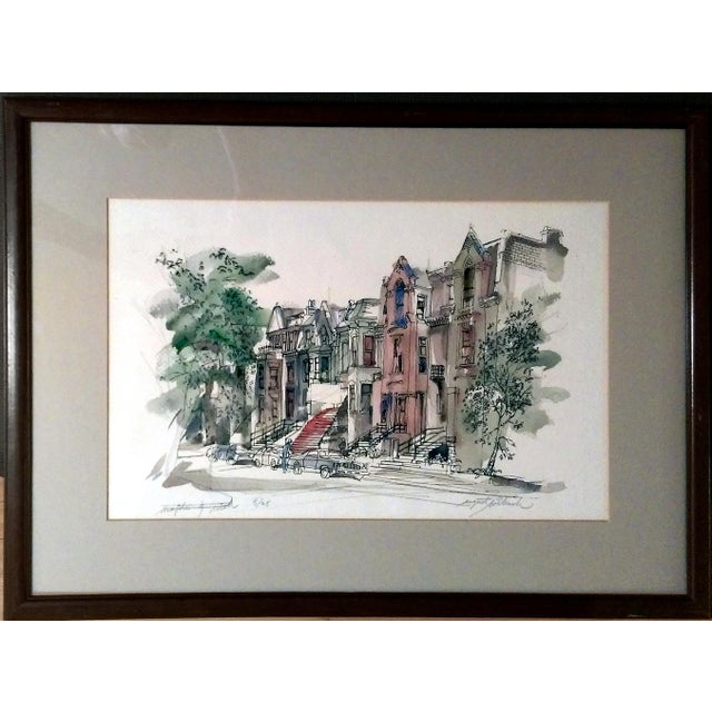 """""""Maple & Rush"""" Lithograph by August Wilrich - Image 1 of 10"""