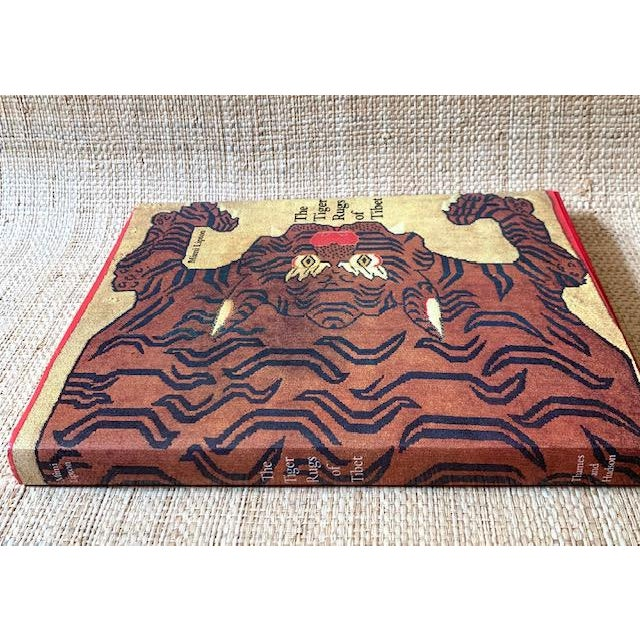 Vintage Tiger Rugs of Tibet Art Book For Sale - Image 4 of 6