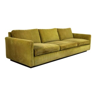 Lawson Style Wide Wale Corduroy Sofa by Milo Baughman for Thayer Coggin For Sale