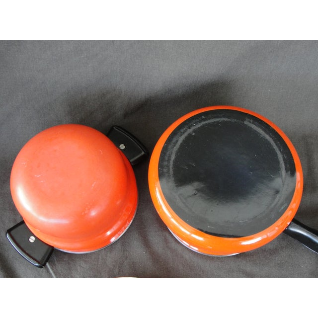 Cathrineholm Style Enameled Double Boiler - Image 7 of 8