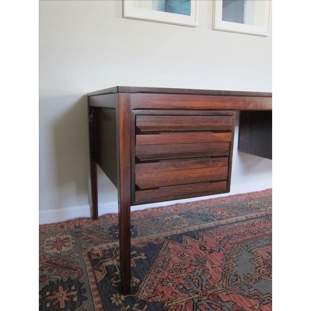 Torbjorn Afdal Mid-Century Rosewood Desk - Image 4 of 11