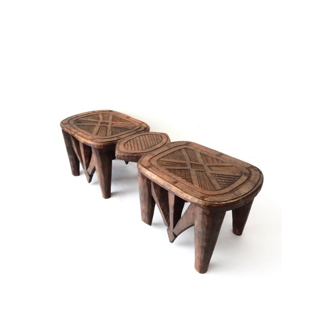 Vintage Nupe Eight-Legged Stool - Image 4 of 8