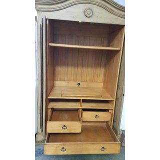 Woodland Furniture French Country Distressed Armoire Preview