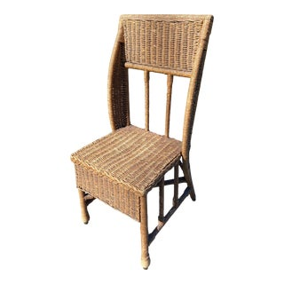 Early 20th Century Hand Made Antique Rope Chair For Sale