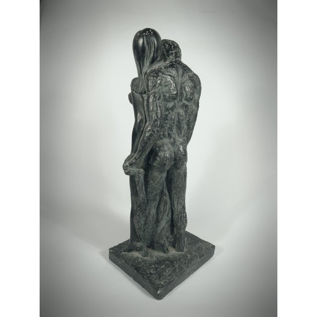 Vintage lovers embrace sculpture chairish