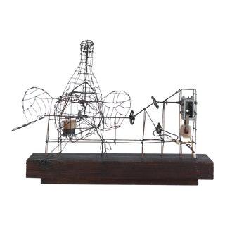 "1970s Vintage Joe Police ""Duck"" Kinetic Sculpture For Sale"