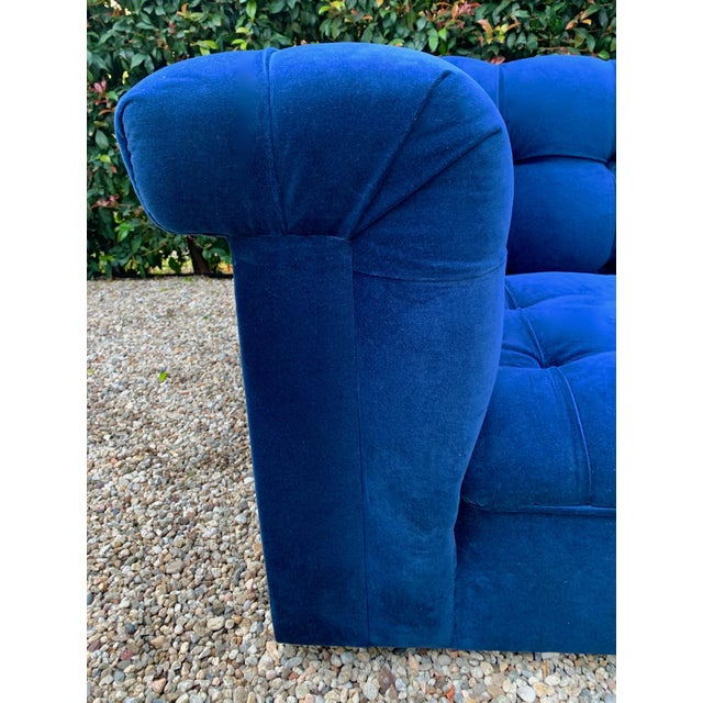 Mid 20th Century Edward Wormley for Dunbar Party Sofa For Sale - Image 5 of 8