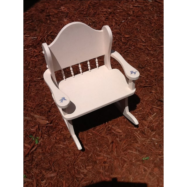 Vintage Child's Rocking Chair - Image 2 of 5