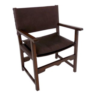 Custom Leather Sing Chair