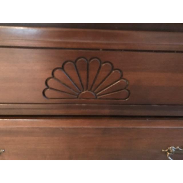 Wooden Shell Carved Dresser For Sale - Image 4 of 7