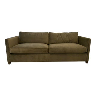 Crate & Barrel Dryden Queen Sleeper Sofa For Sale
