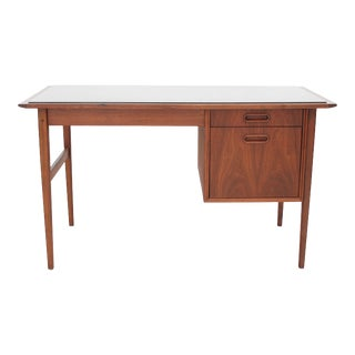 Danish Modern Jack Cartwright Walnut Founders Desk