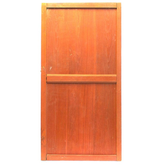 Wood Japanese Solid Wooden Door For Sale - Image 7 of 7