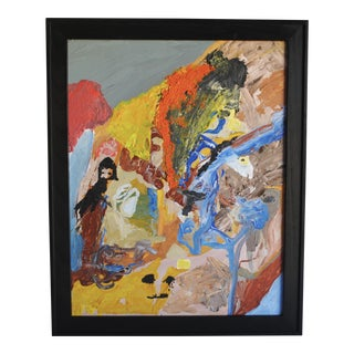 Modern Abstract Expressionist Painting
