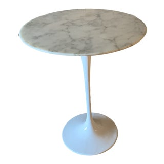 1950s Mid-Century Modern Tulip Side Table For Sale