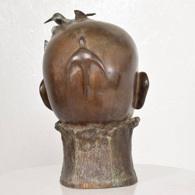 Surrealist Bronze Sculpture, Mexico, 1960s For Sale - Image 12 of 13