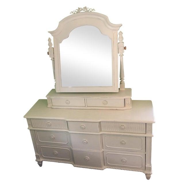 "Thomasville ""Emilia"" Dresser With Mirror For Sale"
