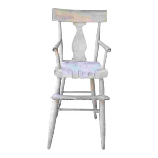 19th Cent. American Child's High Chair For Sale
