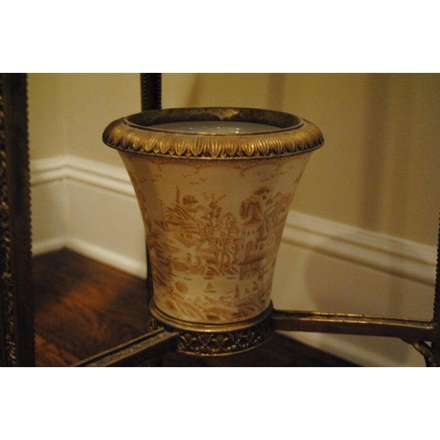 Antique Brass Pedestals - Pair - Image 9 of 9