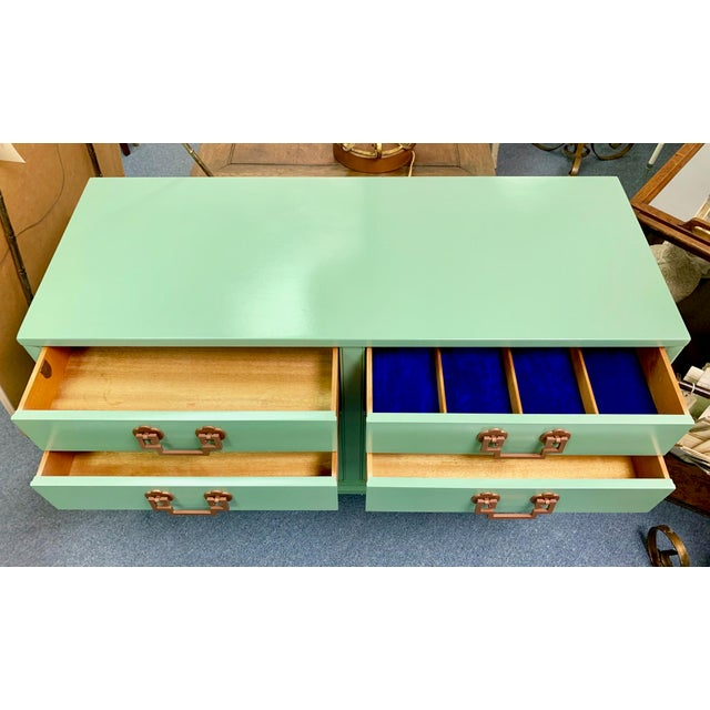 1960s Landstrom Furniture Co. Chinese Chippendale Sideboard For Sale In West Palm - Image 6 of 13