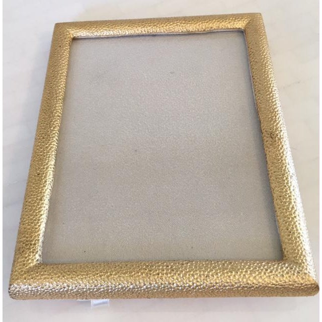 Gold Shagreen Picture Frame - Image 3 of 7