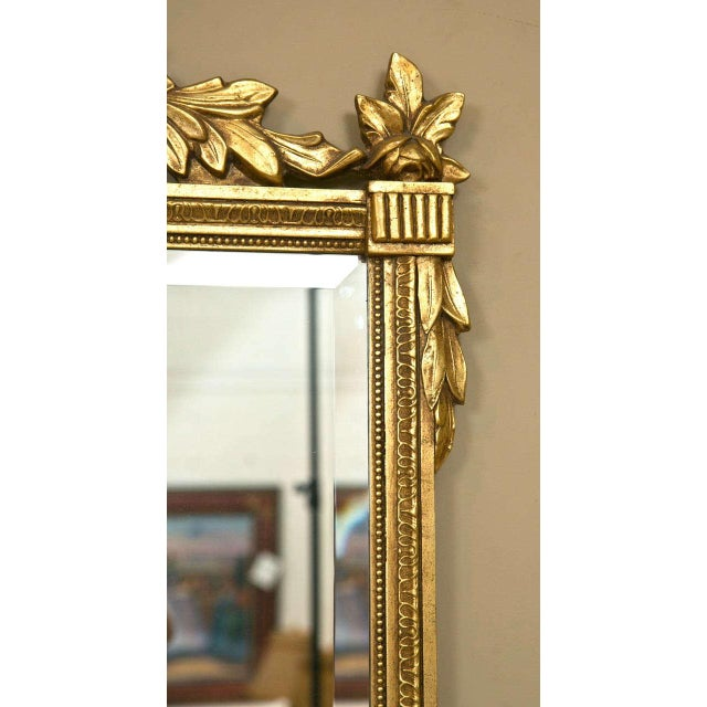 Neoclassical Neoclassical Style Giltwood Mirrors - A Pair For Sale - Image 3 of 7