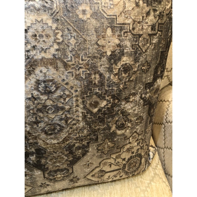 Kenneth Ludwig Chicago Moroccan Inspired Patterned Pillow from Kenneth Ludwig Home For Sale - Image 4 of 6