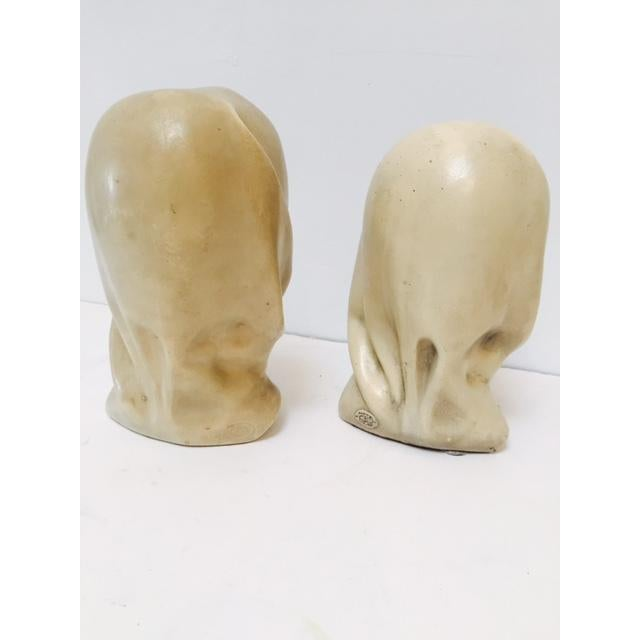 Marwal Arab Female Busts - A Pair - Image 3 of 5