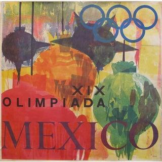 1968 Mexico City Olympics Posters, XIX Olimpiada Mexico