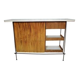 Vintage Modern Arthur Umanoff Dry Bar For Sale