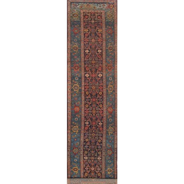 """21st Century Pasargad Home Bidjar Lamb's Wool Runner- 3'11"""" X 15'11"""" For Sale"""