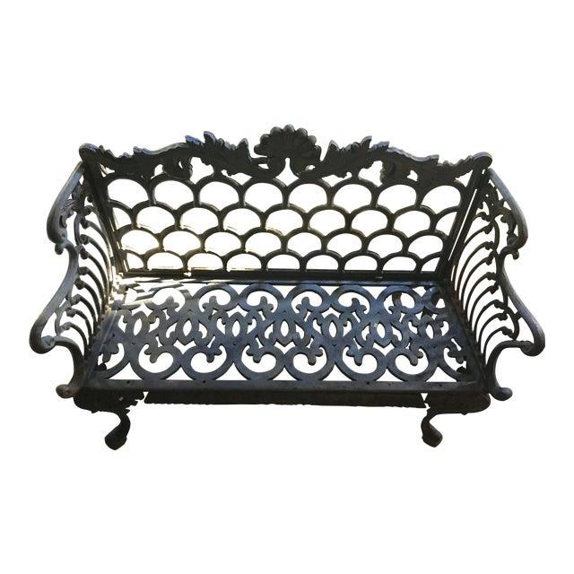 Cast Iron Garden Patio Bench - Image 1 of 11