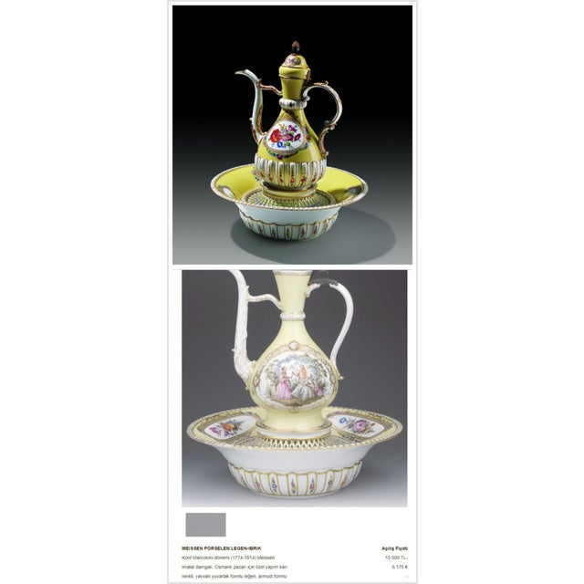 18th Century Meissen Porcelain Pitcher Mounted as Lamp For Sale - Image 12 of 13