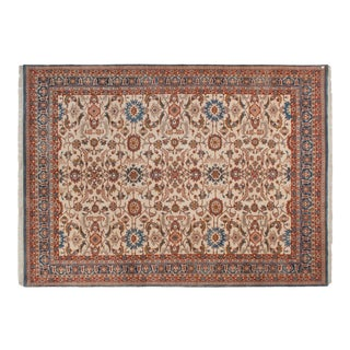"Vintage Indian Sultanabad Design Carpet - 10' X 13'10"" For Sale"