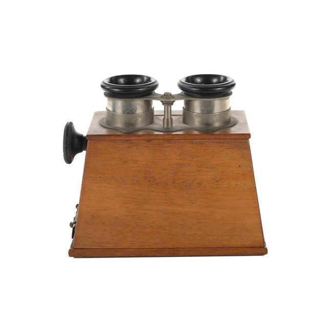 Stereoscope Wooden Viewer by Verascope Richard For Sale In Los Angeles - Image 6 of 10