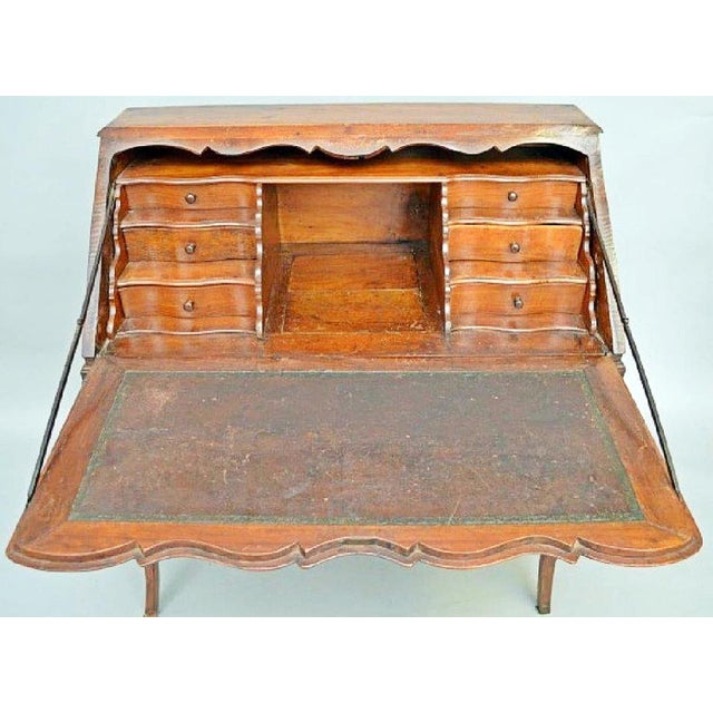 French Country Late 18th Century Italian Writing Desk For Sale - Image 3 of 12