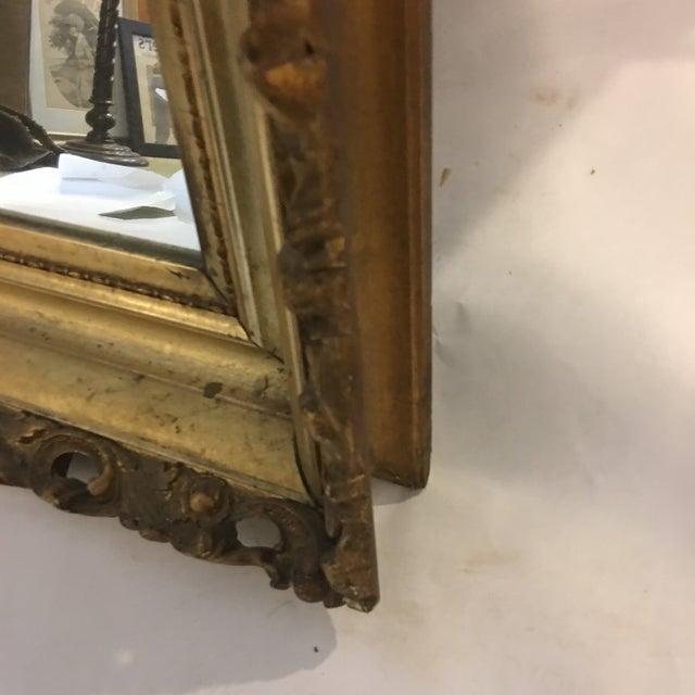 Carved Gold Framed Mirror - Image 5 of 8
