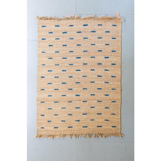 Jute Rug- 5′3″ × 7′6″ For Sale - Image 4 of 4