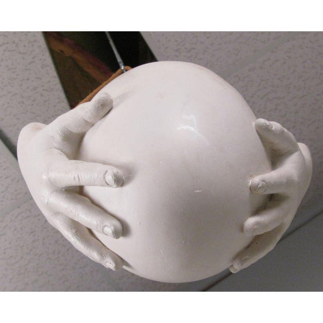 """1970s Ceramic """"Hands"""" Hanging Bowl by Richard Etts For Sale In New York - Image 6 of 8"""