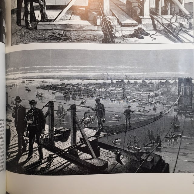 Picture History of the Brooklyn Bridge Book For Sale - Image 10 of 11