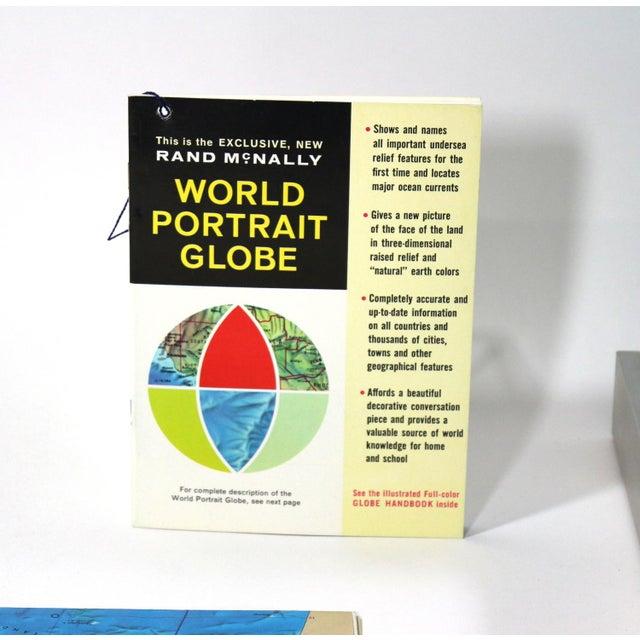 1960s Rand McNally New World Portrait Globe Set - Image 5 of 7
