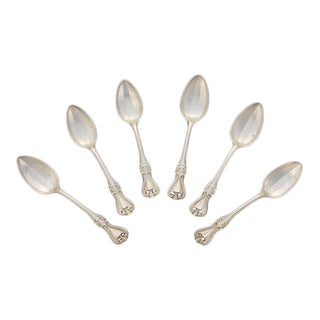 "Towle ""Old Colonial"" Sterling Silver Grape Fruit Spoons - Set of 6 For Sale"