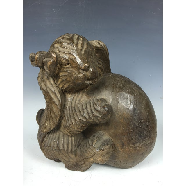 Here we have a very impressive hand carved decorative wooden Paper Mache mold of Rabbit that is made by master craftsmen...