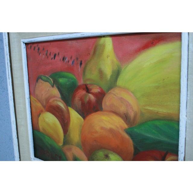 """Acrylic Fruit Painting - 20"""" x 17"""" - Image 7 of 7"""