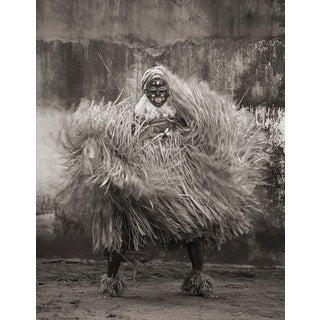 "Cheryl Koralik ""Gla Dancing"" West Africa Tribal Framed Sepia Photograph, Limited Edition For Sale"