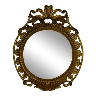 Large Round Mirror For Sale