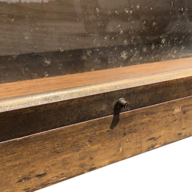 Antique Shiplap Shaw Walker 4 Stack Barrister Bookcase - Image 6 of 10
